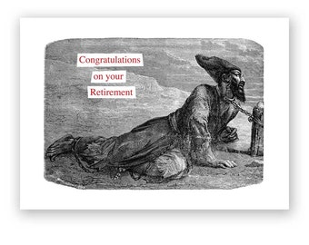 Congratulations on your Retirement - Card