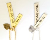 Best. Day. Ever. Special Date Necklace! The Silver Loft Jewelry