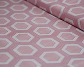 Simply Style by V and Co Pink Hexagon Half Yard