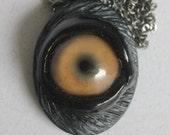 Large Beast Eye Pendant LG-YLW-2