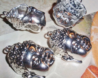 Buddha Face Silver Pendants, WHOLESALE PRICING