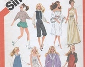 80's Barbie Fashion Doll Sewing Pattern Vintage Uncut Skater Knickers Jodphurs Overalls Gown
