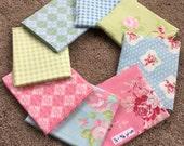Fabric Destash no. 199 -- 8 (1/3)-(3/8) yard cuts