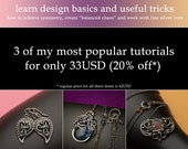 Get 3 tutorials on wire-wrapping design basics and useful tricks for 20% less - instant download available!