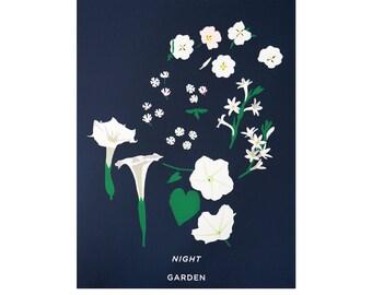 Night Garden Print