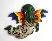 Leopard Cthupid Ornament