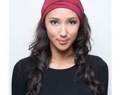 Bandana Headband Women, Head Bandana, Wide Hippie Headband, Head Covering, Womens Head Scarf Hair Wrap, Head Wrap Womens, Stretchy Headwrap