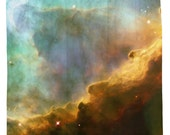 Storm in the Swan Nebula Shower Curtain - Printed in USA