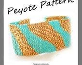 Waves Bracelet - Waves Pattern Bracelet - For Personal Use Only PDF Tutorial