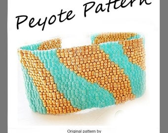 Waves Bracelet - Waves Pattern Bracelet - For Personal Use Only PDF Tutorial