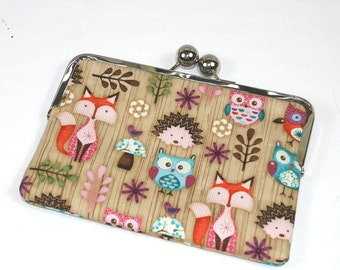 Kindle HDX 7 case, iPad Mini cover, Galaxy Note 8, case Nook cover, Kobo case - Woodland Animals