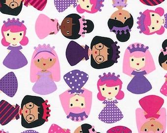 Girl Friends Princess by Ann Kelle Fabric by Robert Kaufman in Slipper, yard