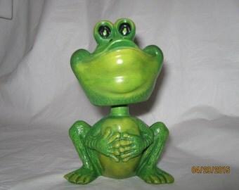 Bobblehead Frog