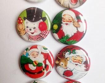 Santa and Friends Flair