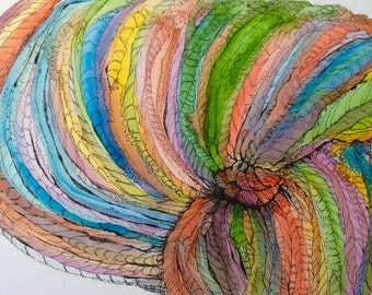 Watercolor Yarn Skein - Limited Edition