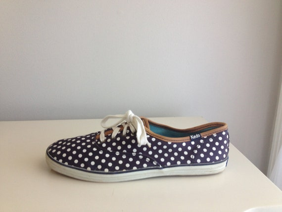 pipa polka dot tennis shoes by keds size 7 by