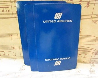 Vintage United Airlines Playing Cards- Set of 15