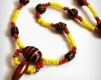 Necklace Beaded Cafe A Cup Of The Best  Sarahbushka