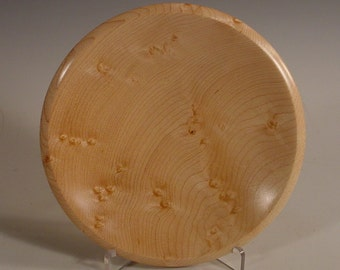 Bird's Eye Maple Bowl Turned Wooden Bowl Number 5894 by Bryan Tyler Nelson
