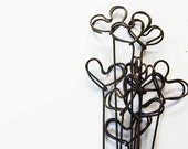 Handmade tall wire hearts for wedding / party / gift / decoration - set of 5