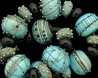 DSG Beads Handmade Organic Lampwork Glass - Made To Order (Mystery Beauty)