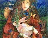 Goddess of Spring art by Helena Nelson - Reed signed fine art print giclee
