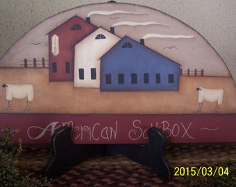 Saltbox house home decor
