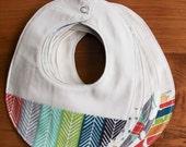 Organic Baby Bib in SERENGETI Collection; Choose your Favorite Newborn Baby Bib Gift by Organic Quilt Company