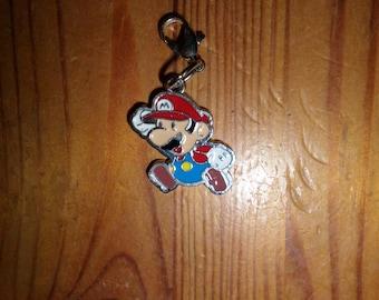 Mario zipper pull charm