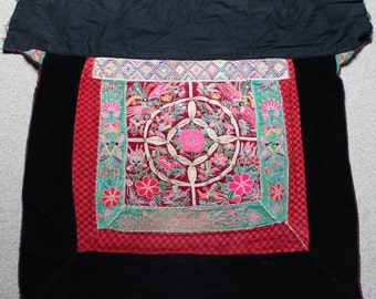 Textiles -  Hmong Baby Carrier/ Hmong / Miao fabric / Hmong embroidery panels - 607