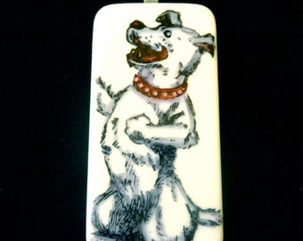 Laughing Dog Pendant