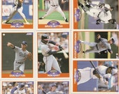 132 Old VINTAGE 1989 SCORE Baseball PICTURE Cards