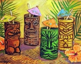 Tiki Bar - Print