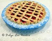 Paper Mache Cherry Pie MATGOFG