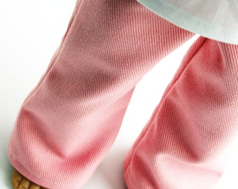 Fits like American Girl Doll Clothes - Denim Jeans in Cotton Candy Pink - Made To Order