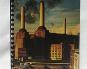 "PINK FLOYD Notebook - ""Animals"" (1977)  Recycled Record Cover Journal Sketch Book"