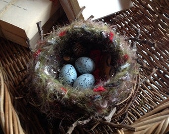 Magpie Nest Mixed Media