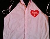 Apron, shirt apron, memorial apron
