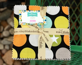 SALE 5 inch charm pack squares MILITARY MAX by Riley Blake from Bella Blvd