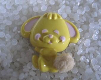 vintage Avon pin pal cottontail yellow bunny