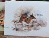 Field Mouse Note Cards