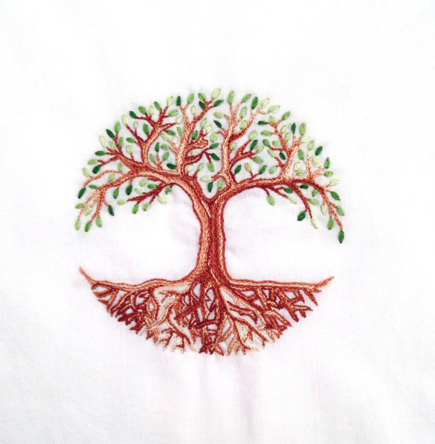 Tree of life hand embroidery pattern pdf from houseofwhimsy on this is a digital file bankloansurffo Choice Image
