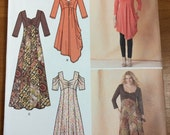 Womens Pattern SIZES 10-12-14-16-18 Simplicity 1623 GORGEOUS Dresses Tops