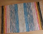 CLOUD NINE -- Handwoven multicolored rug