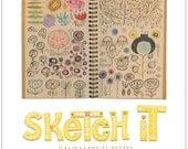 Sketch It Handmade Is Better Print 8.5 x 11