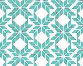Recollection---Fairisle Hearts Turkois---Katarina Roccella for Art Gallery Fabric