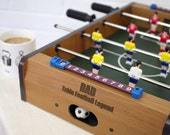 Personalised Table Top Football Game  Gift for Him  Fathers Day Gift  Gifts for Dad  Dad Gift  Football Gift  Dad Football Gift