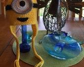 Crochet Baby Minion Hat