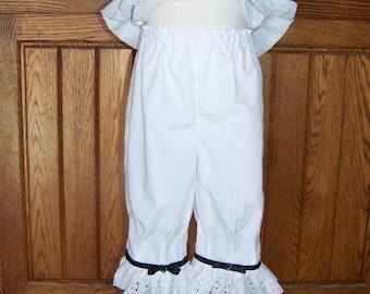 Pintuck Pantaloons