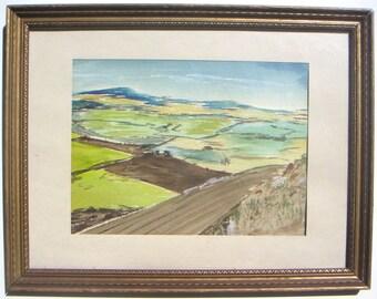 German Expressionist Landscape